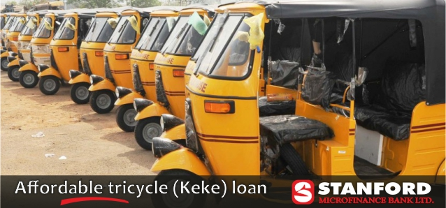 Affordable tricycle loan